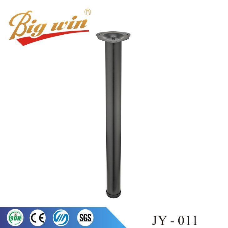 Adjustable chrome metal table legs