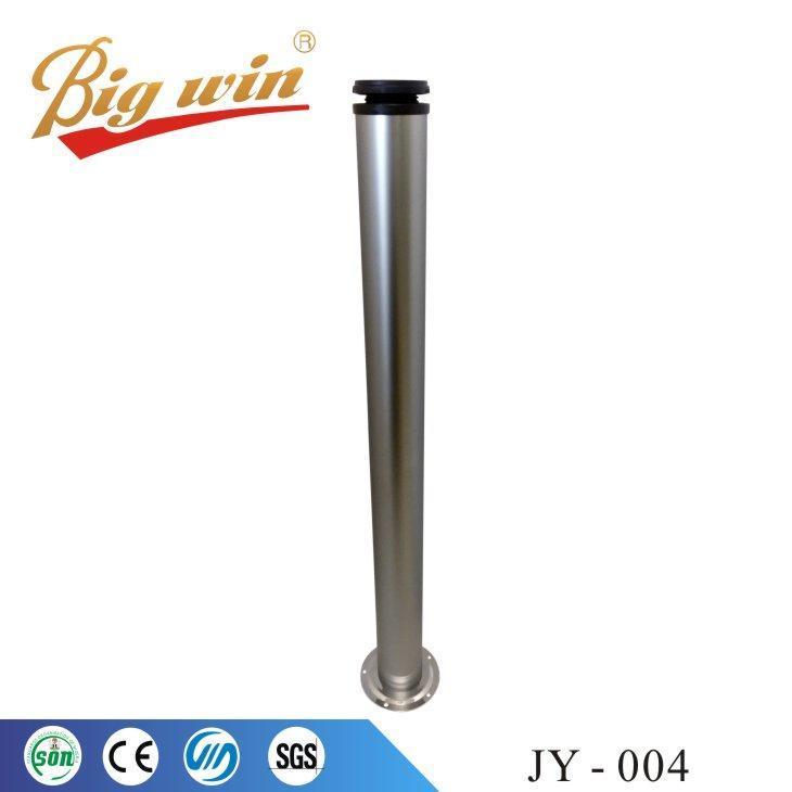 Table legs chrome metal